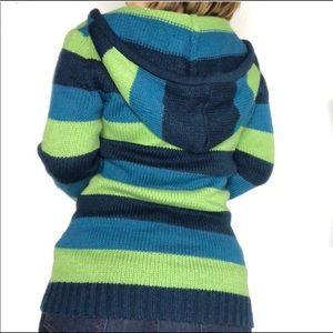 Arizona Jeans Co Striped Hoodie Sweater. XL.